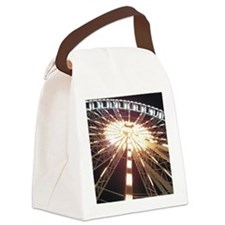 Big wheel square Canvas Lunch Bag
