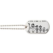 ass family Dog Tags