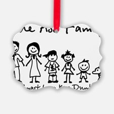 ass family Ornament