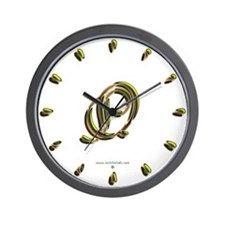 Phyllis Initial Q Wall Clock