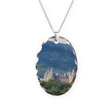 Beautiful Scottish Castle now  Necklace Oval Charm