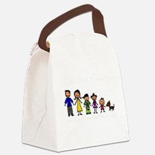 ass family Canvas Lunch Bag