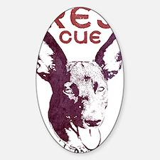corarescue_bright Sticker (Oval)