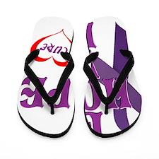 love Hope Flip Flops
