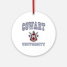 COWART University Ornament (Round)