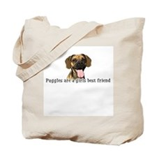 Puggles are a girls best frie Tote Bag