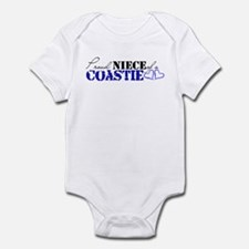 Proud Niece of a Coastie Infant Bodysuit