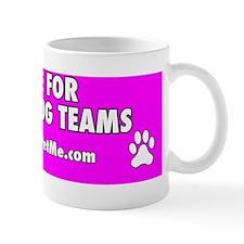I BRAKE FOR SERVICE DOG TEAMS (pink) Mug