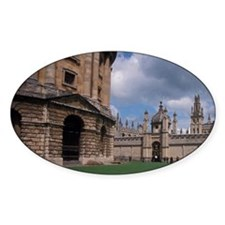 EUROPE, England, Oxford University Decal