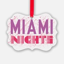 LJ9-MiamiNights Ornament