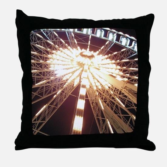 Bigwheel ipad Throw Pillow