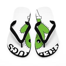 hugCactus3 Flip Flops