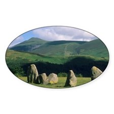 England, Castlerigg Stone Circle, L Decal