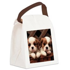 puppies toilettry bag Canvas Lunch Bag