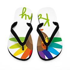 Kathy-the-turkey Flip Flops