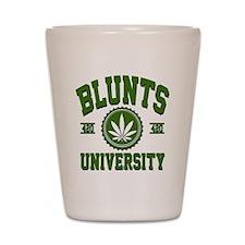 BLUNTS_UNIVERSITYa3d Shot Glass