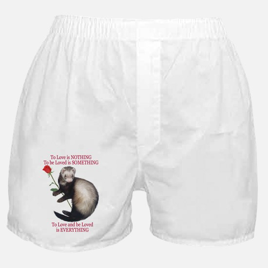 To Love is NOTHING Boxer Shorts