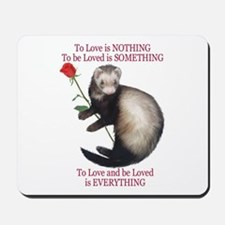To Love is NOTHING Mousepad