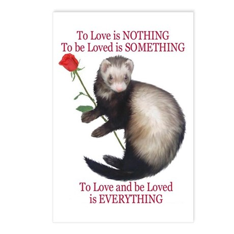 To Love is NOTHING Postcards (Package of 8)
