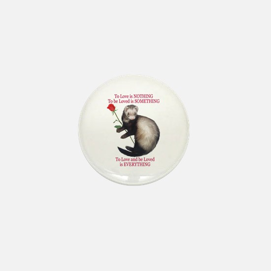 To Love is NOTHING Mini Button