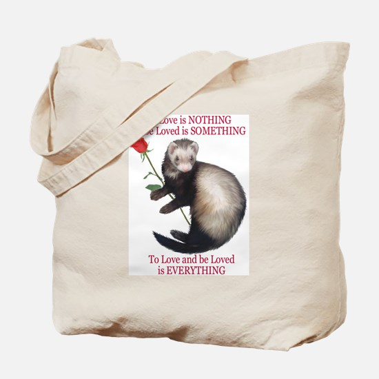 To Love is NOTHING Tote Bag