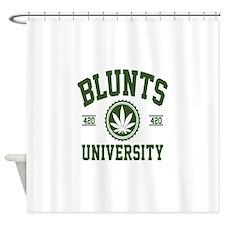 BLUNTS_UNIVERSITYa Shower Curtain