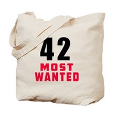 42 most wanted Tote Bag