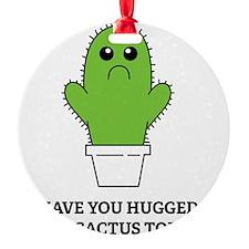 hugCactus5 Ornament