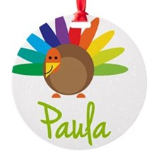 Paula-the-turkey Ornament