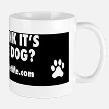 Sill think its a guide dog? Mug