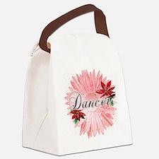Dancer Pink Snow Flower by Dances Canvas Lunch Bag