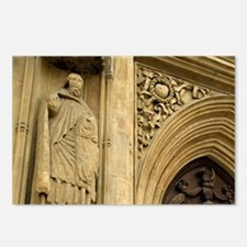 Bath Abbey. Massive woode Postcards (Package of 8)