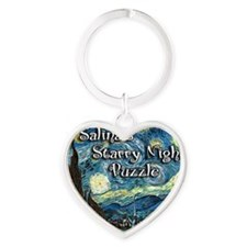 Salinas Heart Keychain