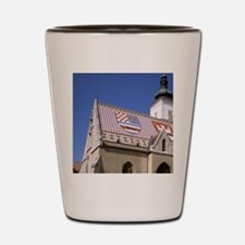 Europe, Croatia, Zagreb, Gradec neighbo Shot Glass