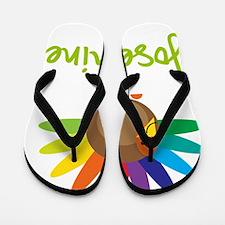 Josephine-the-turkey Flip Flops