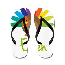 Ellen-the-turkey Flip Flops