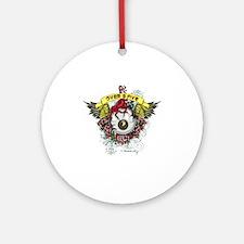 ovah-10x10 Round Ornament