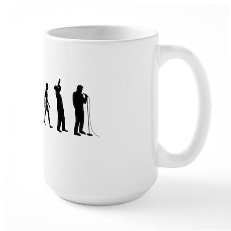 COMEDIAN_EVOLUTION Large Mug