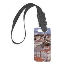 Looking NE over the city of Spli Luggage Tag