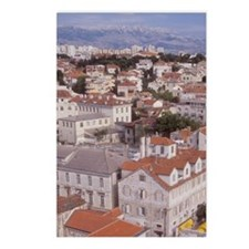 Looking NE over the city  Postcards (Package of 8)