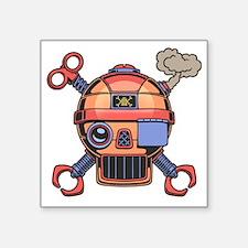 "robo-pir2-T Square Sticker 3"" x 3"""