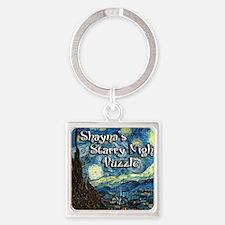 Shaynas Square Keychain