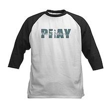 Real Men Pray - Lt Teal Tee