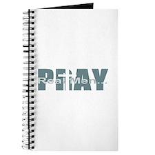 Real Men Pray - Lt Teal Journal