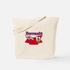 Bermuda flag ribbon Tote Bag