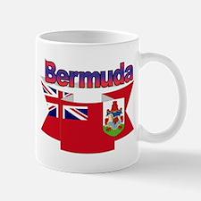 Bermuda flag ribbon Mug
