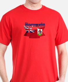 Bermuda flag ribbon T-Shirt