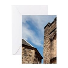 Edinburgh. Historic Edinburgh Castle Greeting Card