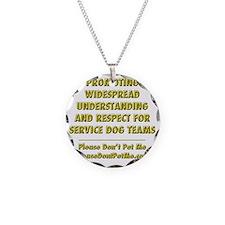 Please Dont Pet Me Mission S Necklace