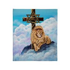 Messianic Art Throw Blanket
